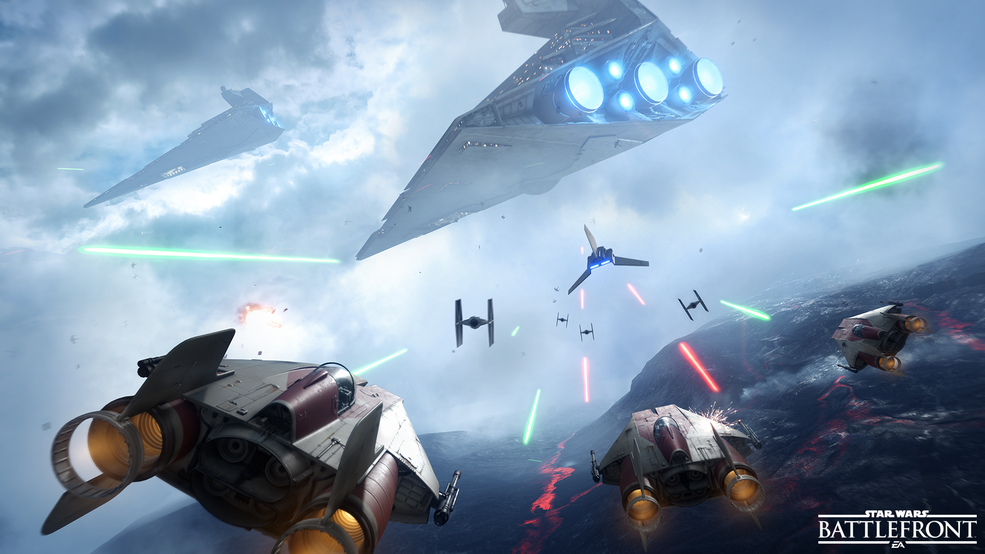 Click to enlarge image Star Wars Battlefront - Fighter Squadron - A Wing vs Imperial Shuttle _ FINAL FOR RELEASE.jpg