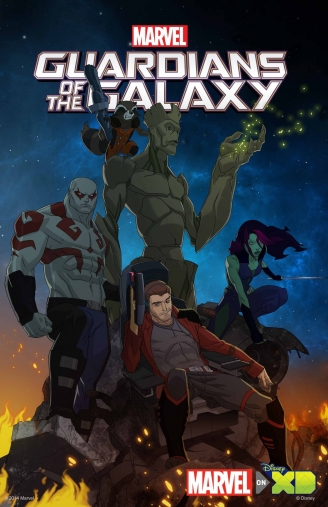 Nuevo avance de la serie animada de Guardians of the Galaxy
