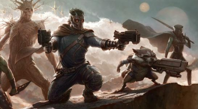 SDCC'12: ¡¡Primer concept-art para Guardians of the Galaxy!!