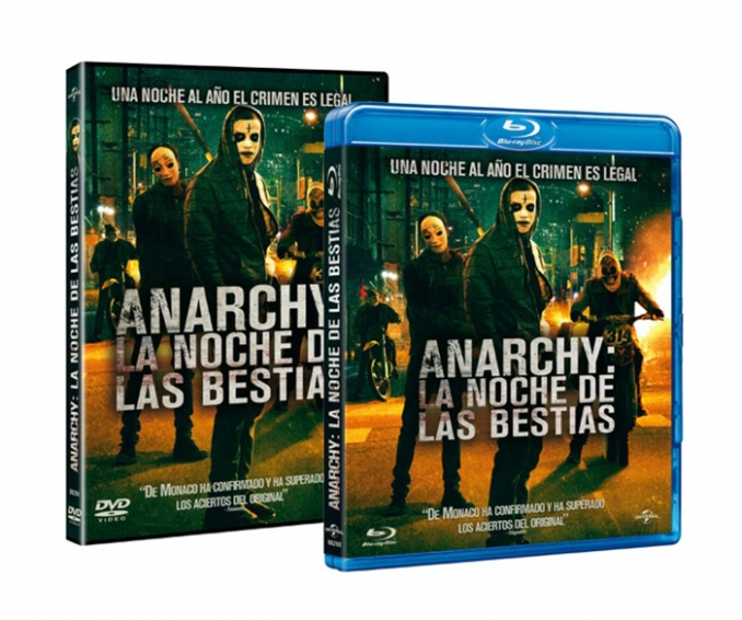 Scifiworld Club: Sorteo DVDs Anarchy: La Noche de las Bestias