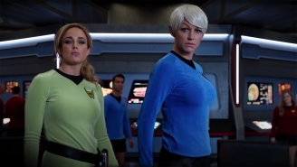 The Legends of Tomorrow homenajea/parodia a Star Trek
