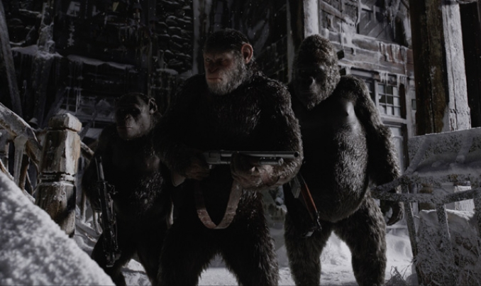 Teaser del nuevo tráiler de War for the Planet of the Apes