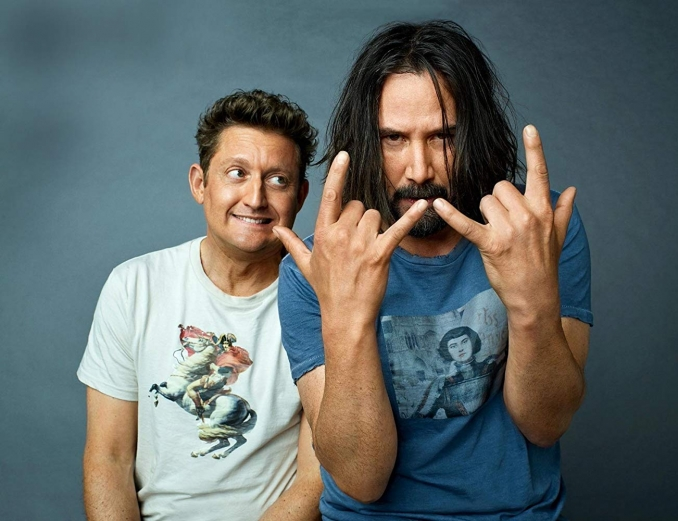 Termina el rodaje de Bill & Ted Face the Music