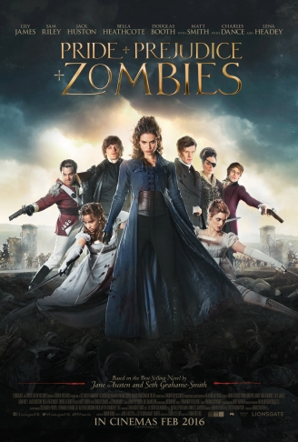 Posters para Pride and Prejudice and Zombies