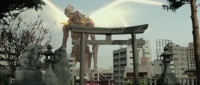 Giant God Warrior Appears in Tokyo