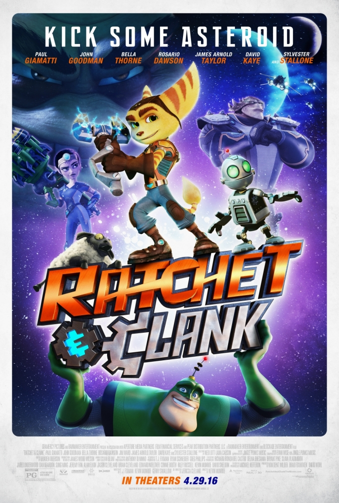 Dos clips para Ratchet & Clank
