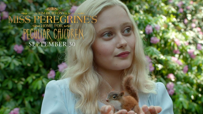 Spot extendido para Miss Peregrine's Home for Peculiar Children