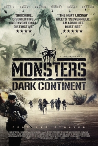 Póster oficial para Monsters: Dark Continent