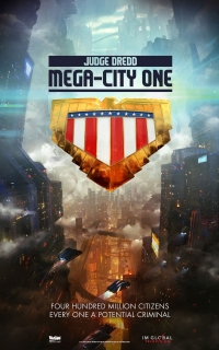 Se anuncia Judge Dredd: Mega City One