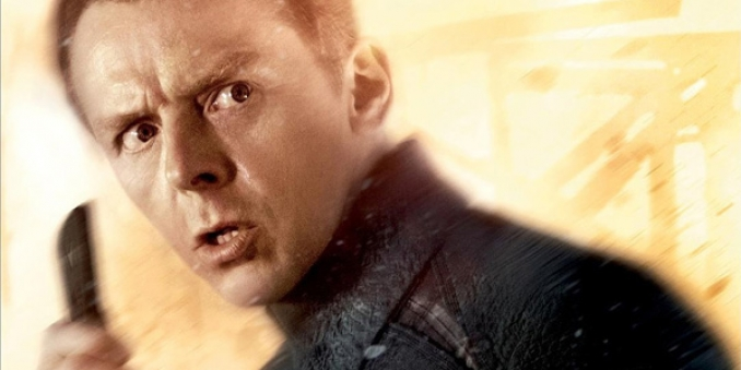 Simon Pegg co-escribiendo Star Trek 3