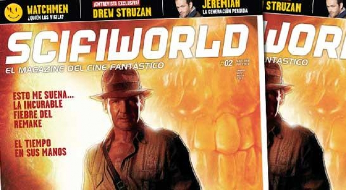 Indiana Jones en Scifiworld Magazine