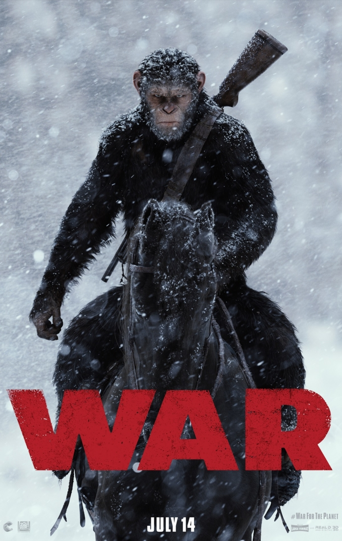 War for the Planet of the Apes presenta su tráiler, imágenes y primer póster