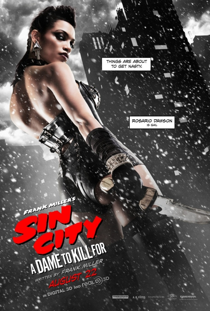 Un nuevo clip de Sin City: A Dame to Kill For