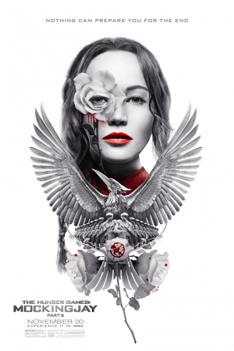 Póster IMAX para Mockingjay Part 2