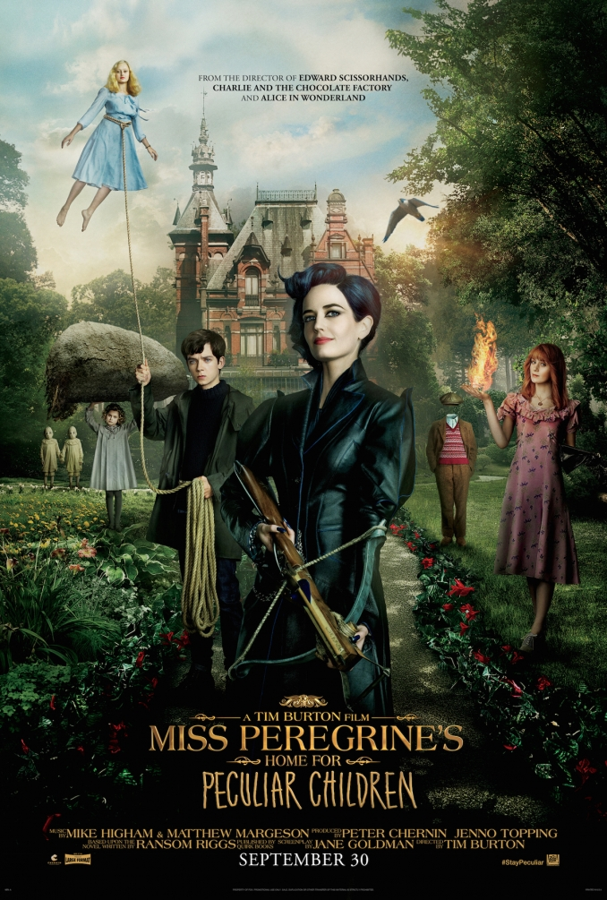 Segundo tráiler para Miss Peregrine's Home for Peculiar Children