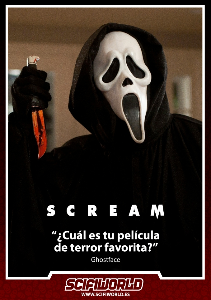 La Frase del Día: Scream